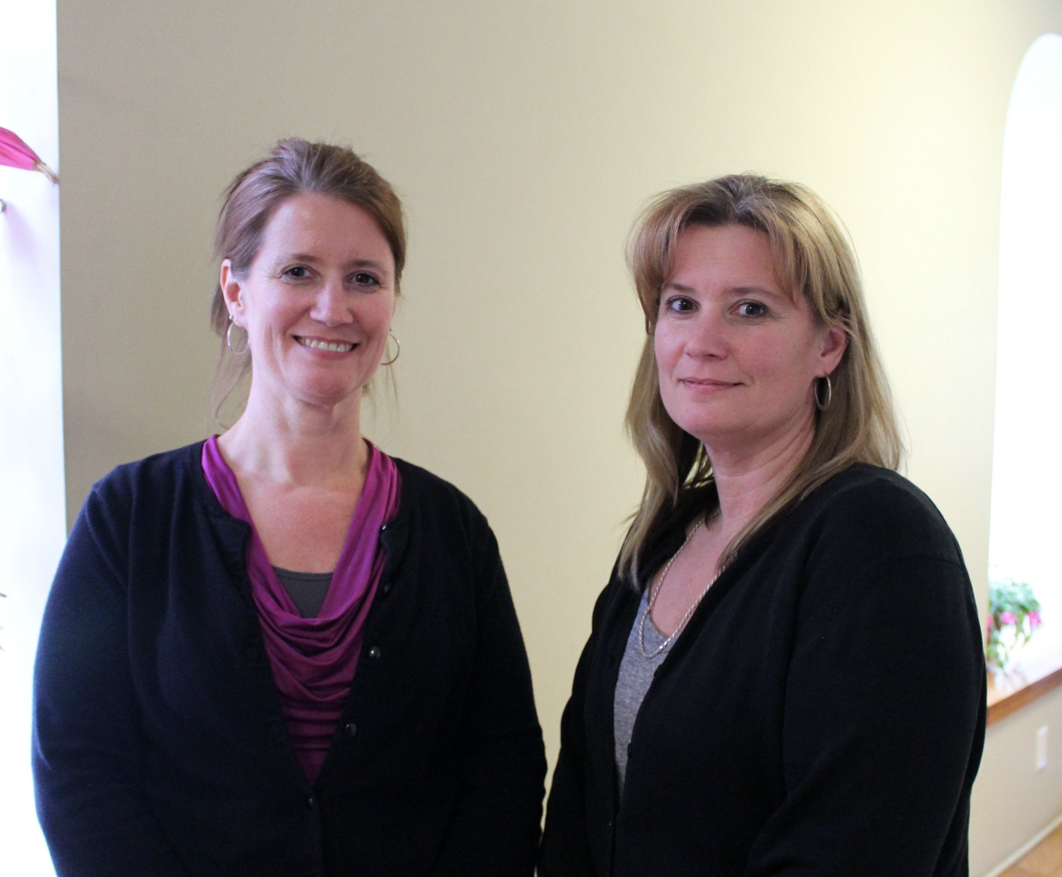 Melynda Miller and Melyssa Whitcomb of Union Bank