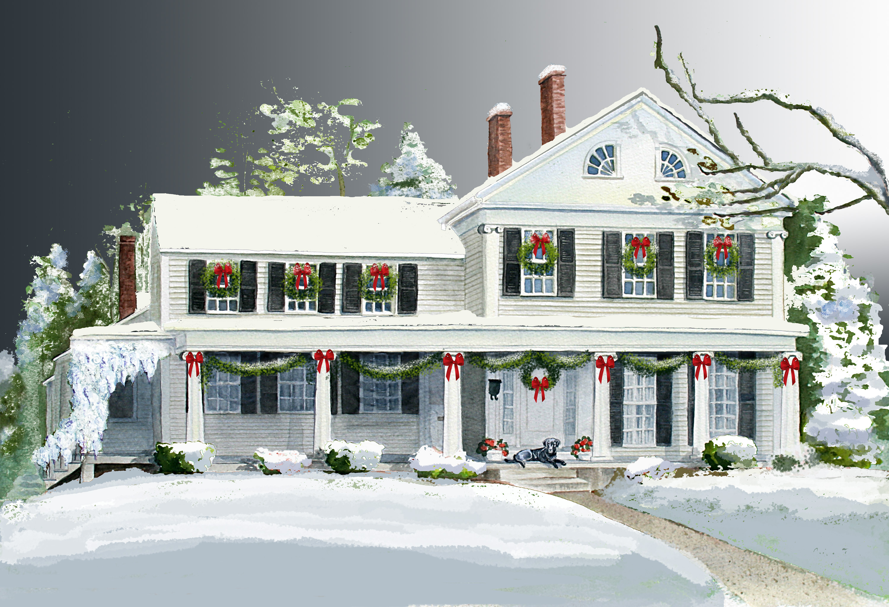Chistmas in the Village Holiday House Tour
