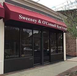 Sweeney & O'Connell Real Estate Office in Arlington MA