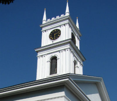 Old Whaling Church Steeple