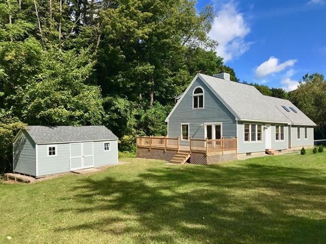 Cape style home for sale in Conway Massachusetts
