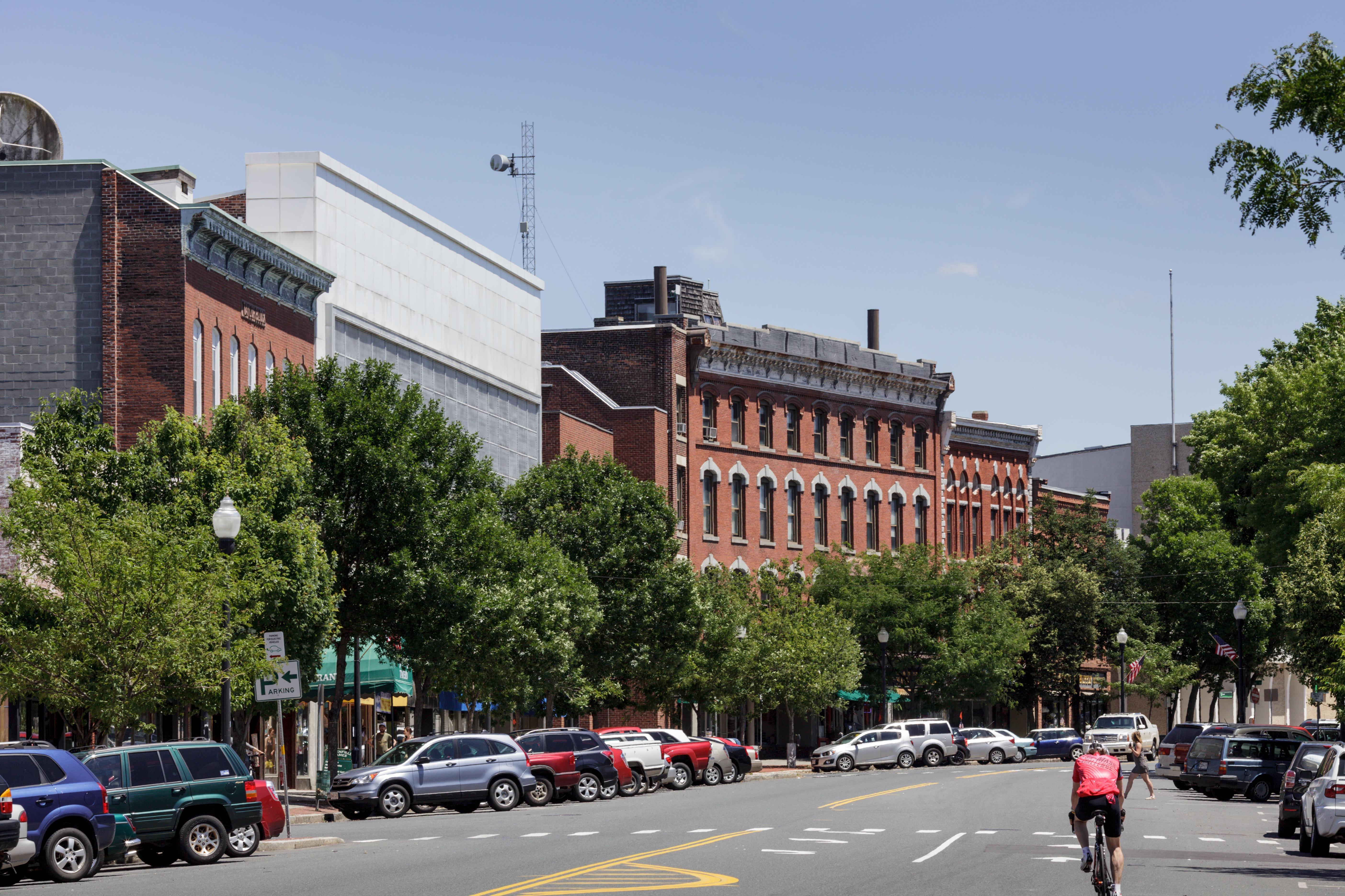 Downtown Greenfield Massachusetts