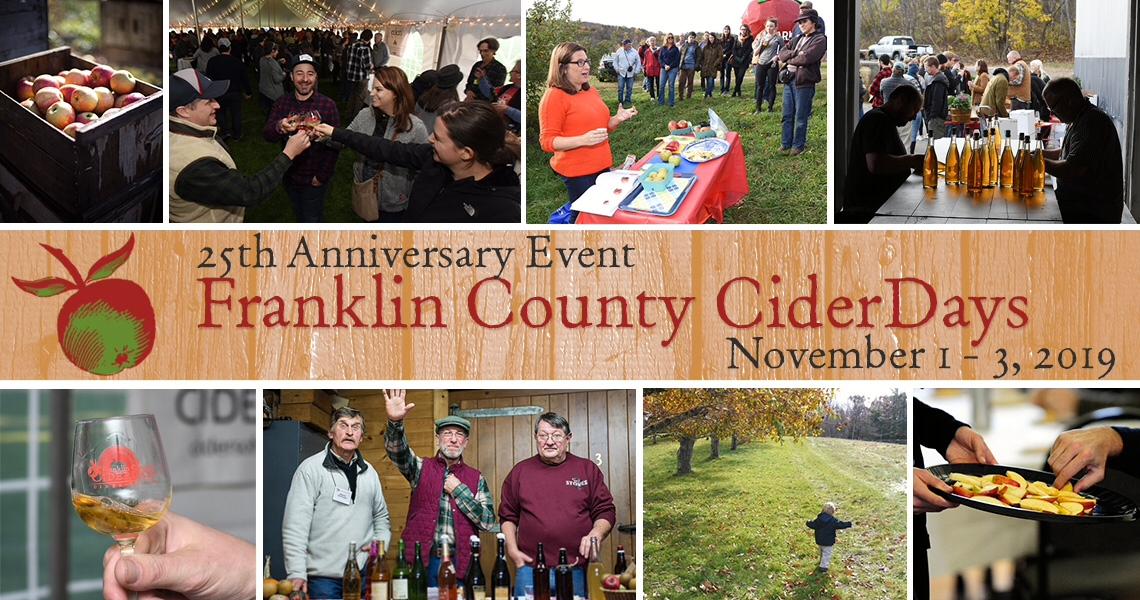 Franklin County Cider Days November 2019 Massachusetts