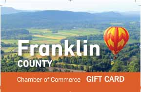 Franklin county gift card Massachusetts