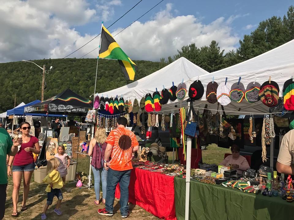 charlemont reggae festival vendor booths