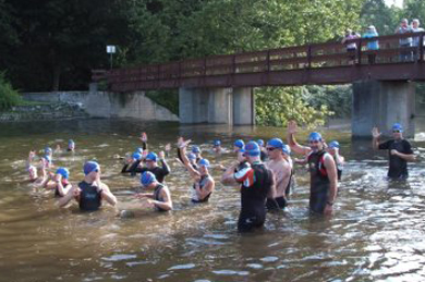 greenfield triathlon massachusetts swimming
