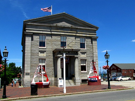 Custom House Maritime Museum in Newburyport MA