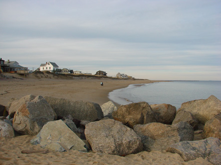 Atlantic Ocean at Plum Island