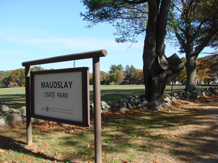 Maudslay State Park in Newburyport MA