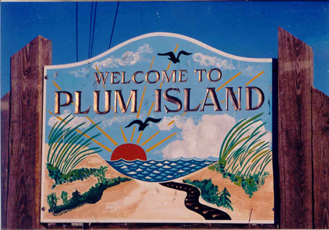 Plum Island Welcome Sign