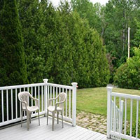 16 Morningside Steet - patio