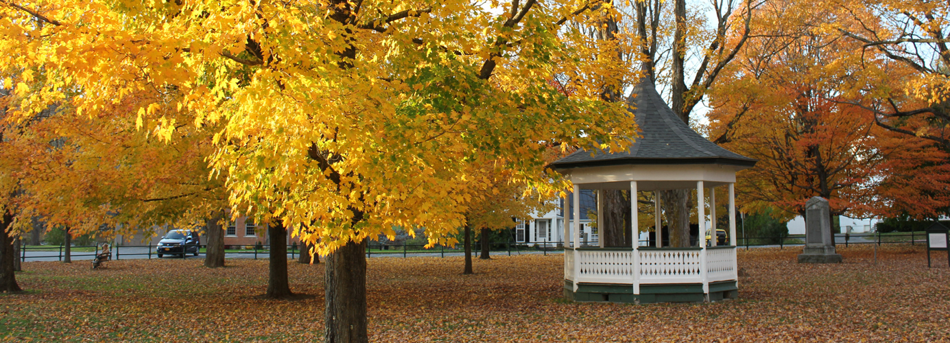Fall Folliage on the Weston Town Green