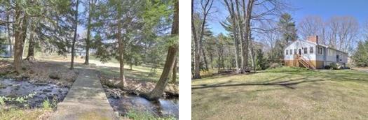 Rustic Bridge to Foster's Pond Area