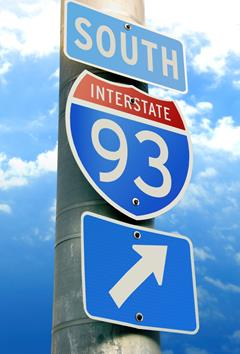 93 North Traffic Nh