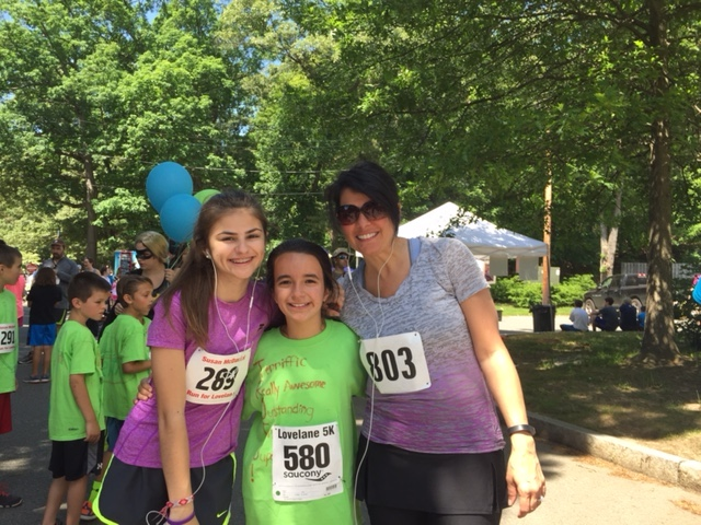 Paula Sughrue, her niece, Olivia, and Paula's daughter, Madeline.