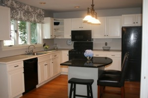 Kitchen at 304 Main St, Winchester MA