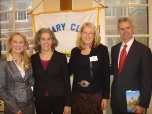 Winchester Rotary Club and Chamber of Commerce welcome the new town manager