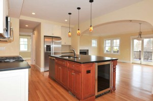 Kitchen at 1 Oneida Circle, Winchester MA