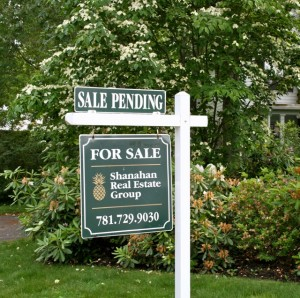Shanahan Real Estate Group- Sale Pending Sign