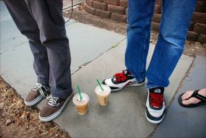 Starbucks on the Sidewalk