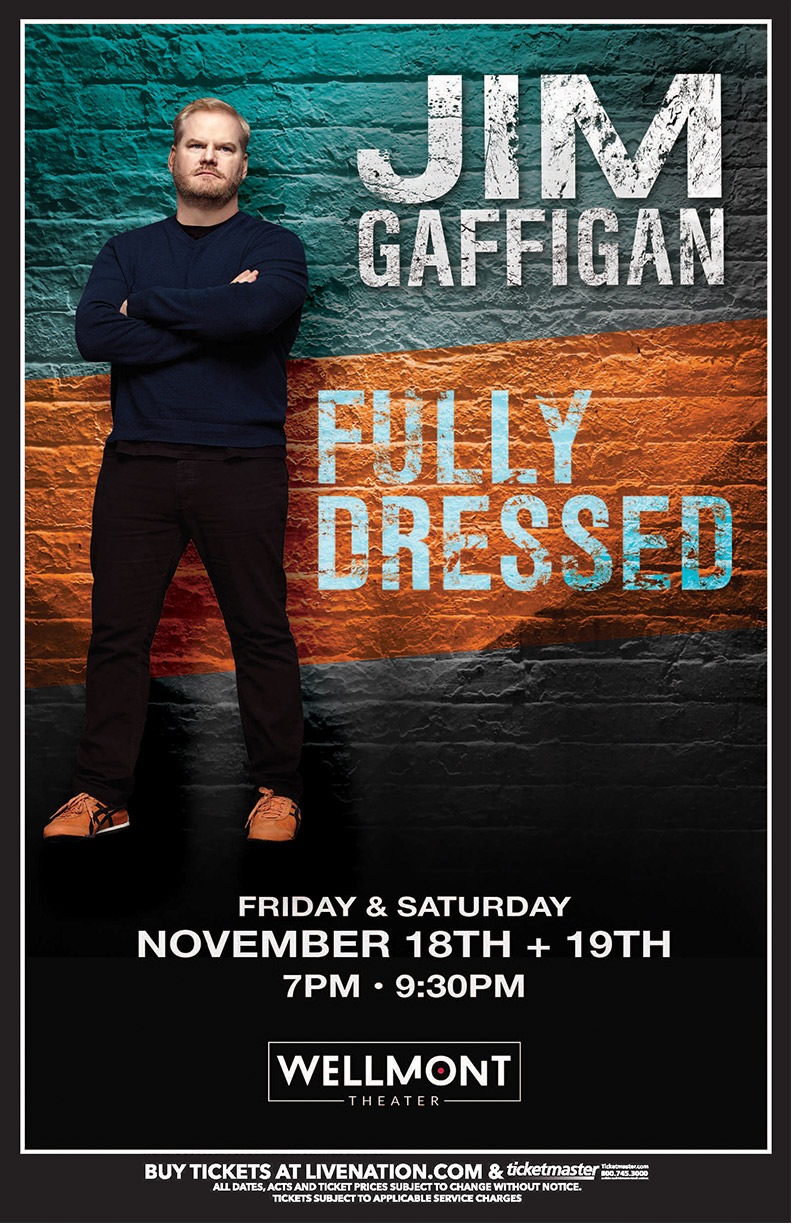 Jim Gaffigan Tour Poster
