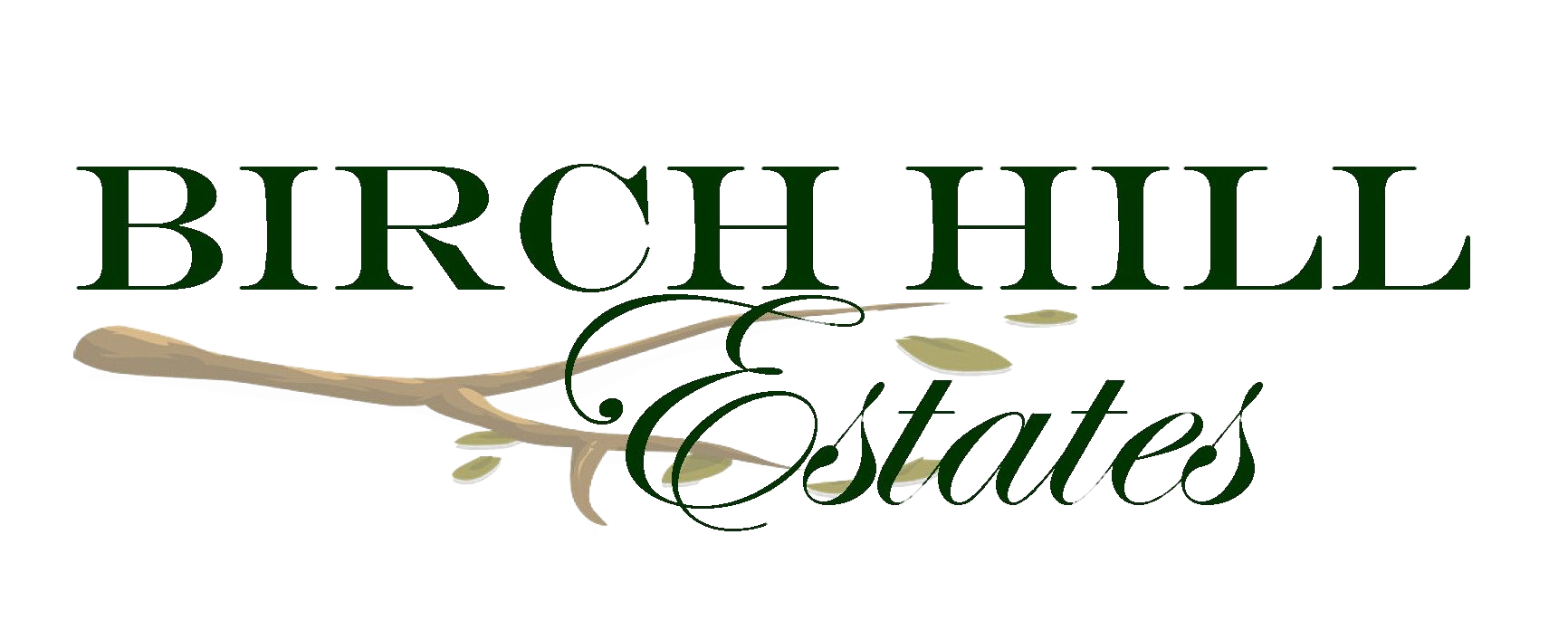 The Birch Hill Estates logo