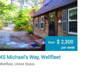 Foxescape 45 Michaels Way Wellfleet Cape Cod 3Harbors Realty Vacation Rental