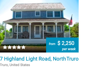 The Rock 7 Highland Light Road Truro Cape Cod 3Harbors Realty Vacation Rental