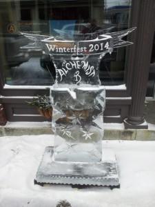 The Alchemist Ice Sculpture