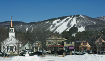 Ski near North Conway, New Hampshire