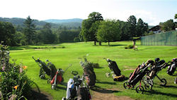 Golf courses in the White Mountains of New Hampshire and Western Maine