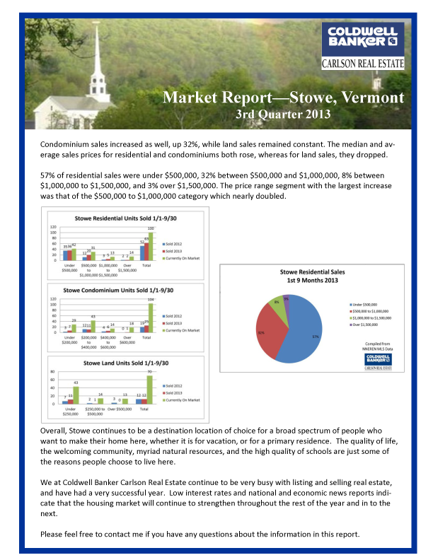 Fall 2013 Market Report Page 2