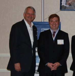 Budge Huskey, President and CEO of Coldwell Banker and McKee Macdonald of Coldwell Banker Carlson Real Estate.