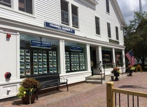 Exterior of our new office at 91 Main St, Stowe, VT.