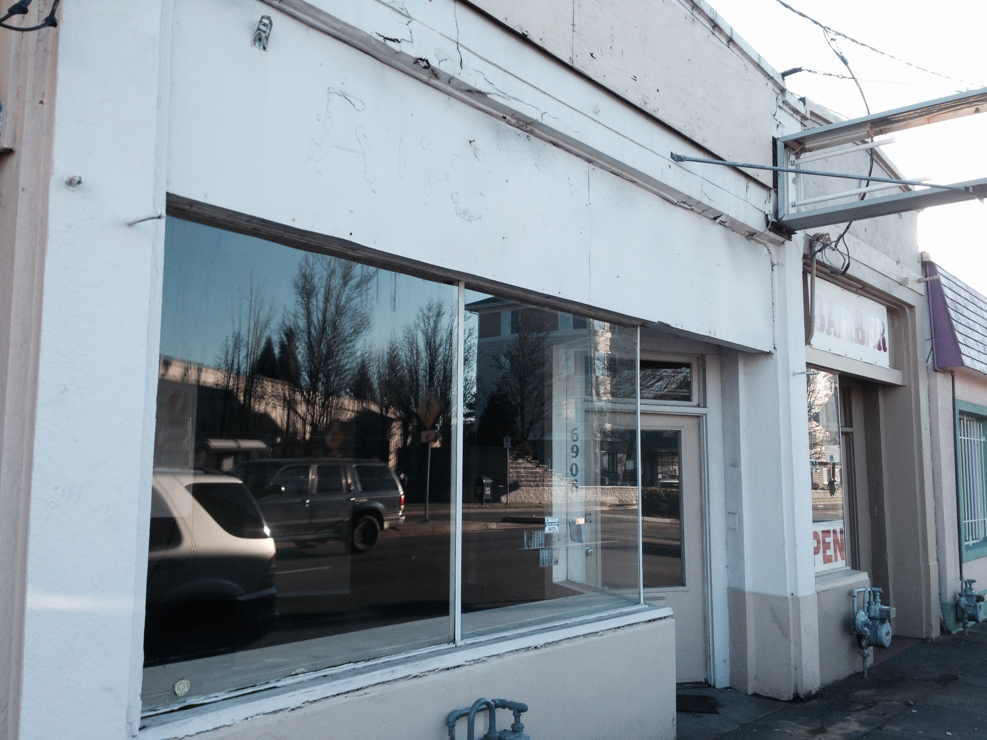 storefront before