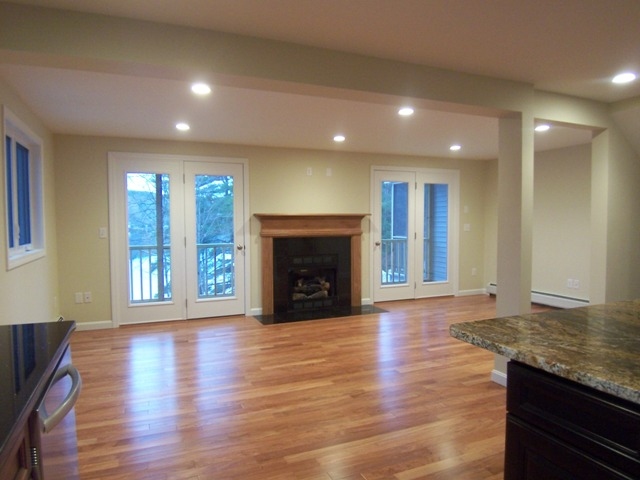 NH Luxury Condos with Gas Fireplace