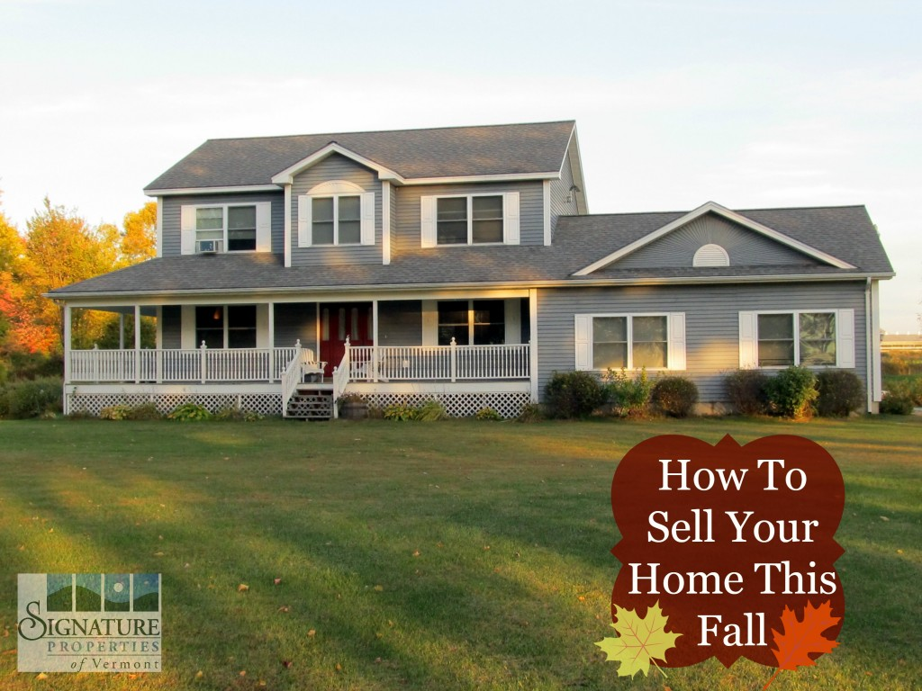 Sell in fall blog