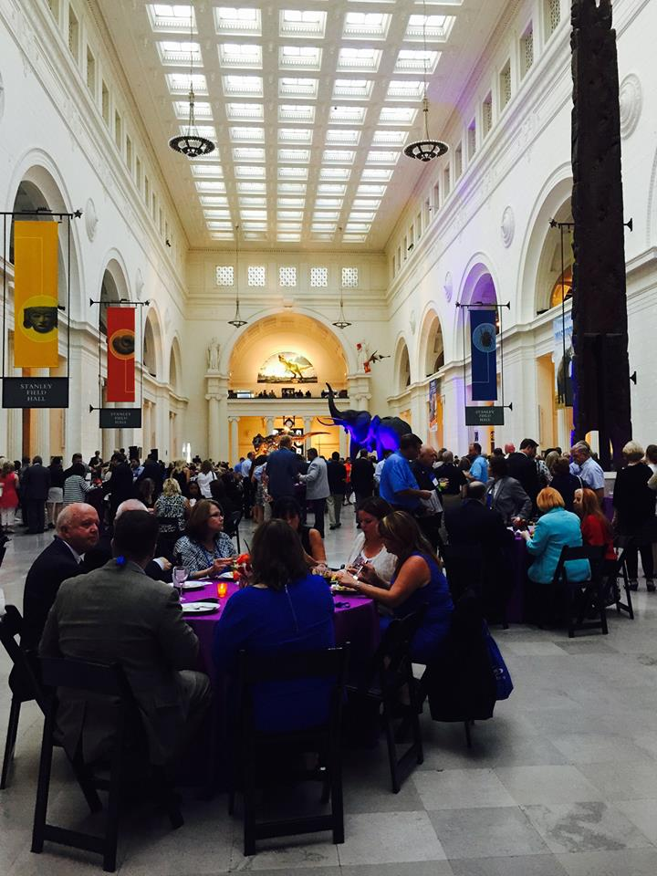NAR Leadership Summit 2015 in Chicago, reception at the Field Museum