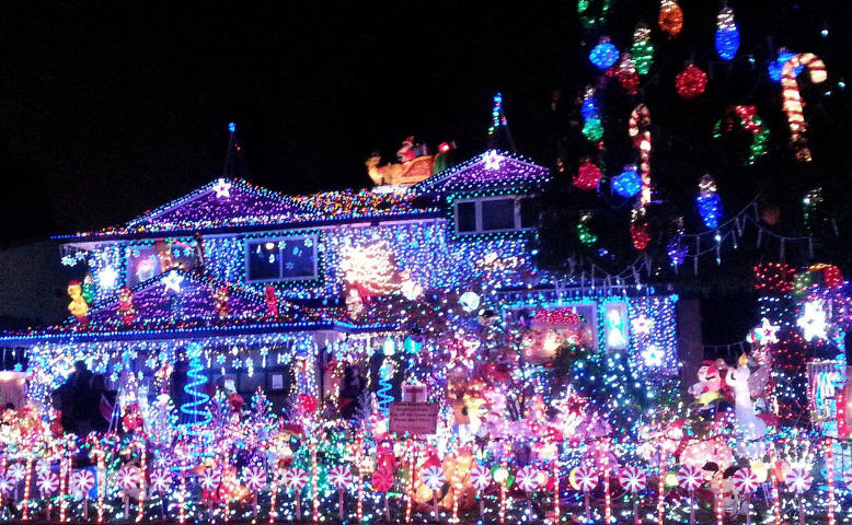 Christmas Light Displays.Holiday Light Displays North Of Boston Windhill Realty