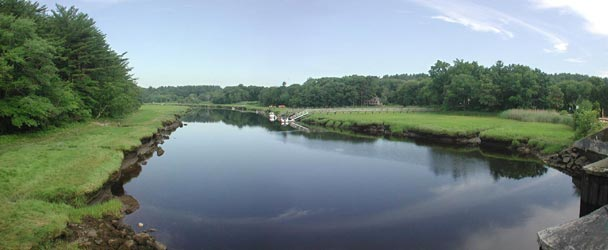 Marshfield MA River