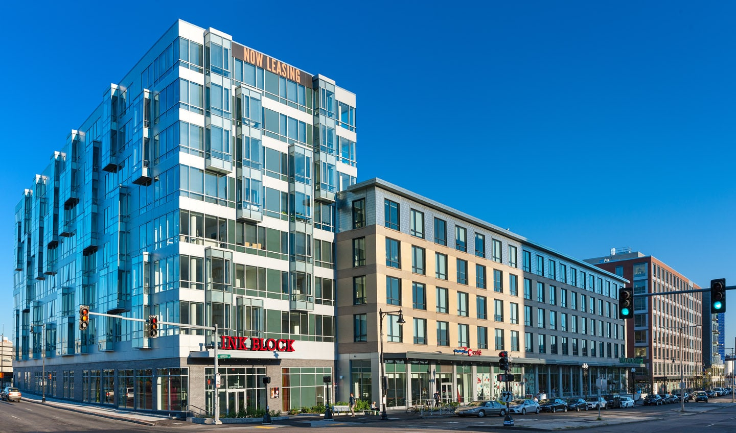 The Three Ink Block Boston Buildings Offer Unique Designs In A Historic  Neighborhood