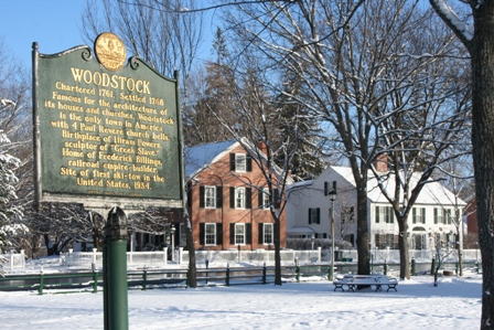 Historic Woodstock Vermont and The Green