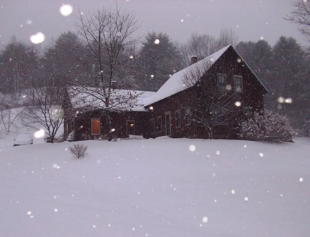 Winter Escape to Hartland Vermont