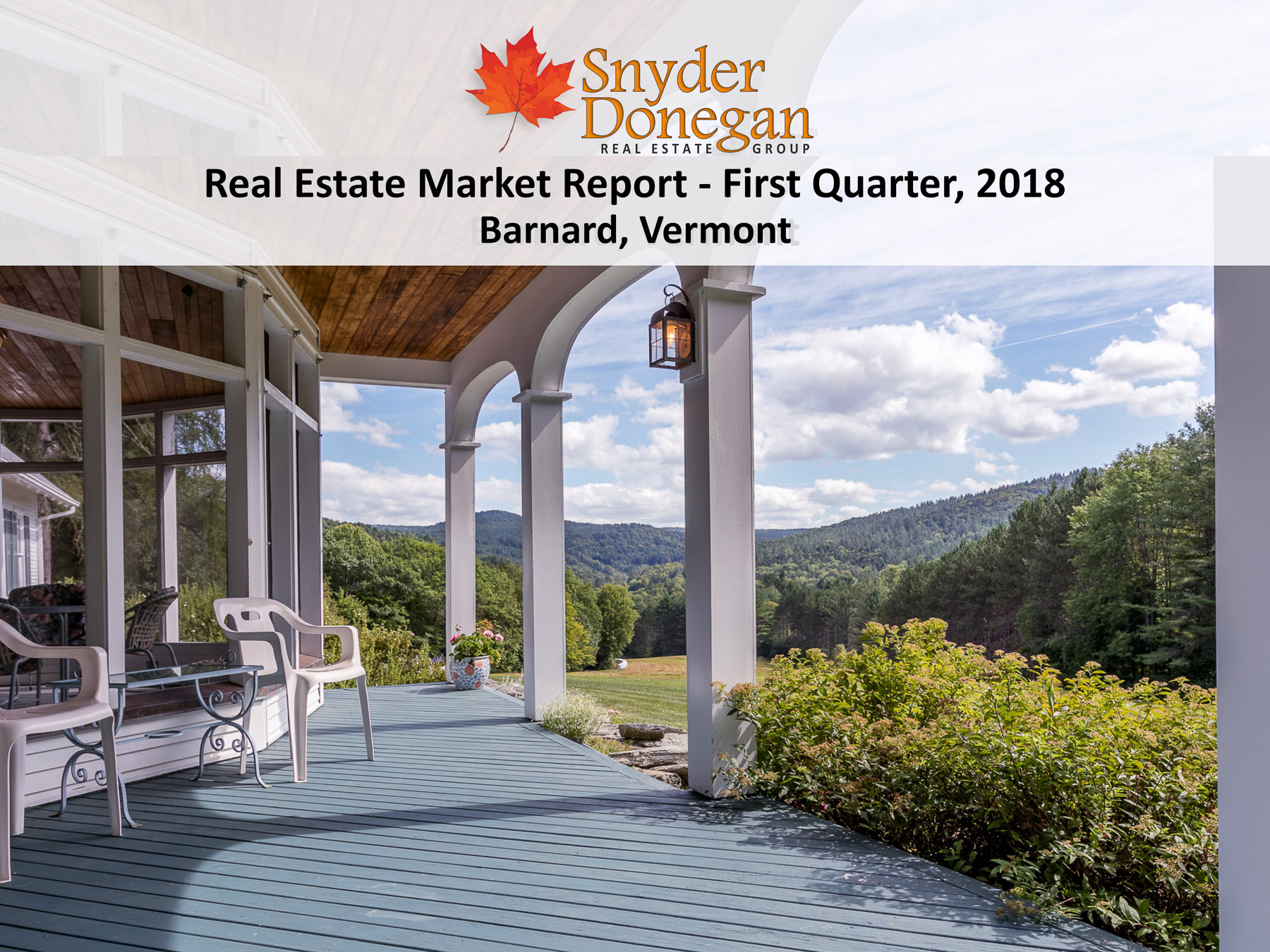 Barnard VT Real Estate - 1Q 2018 Cover Art