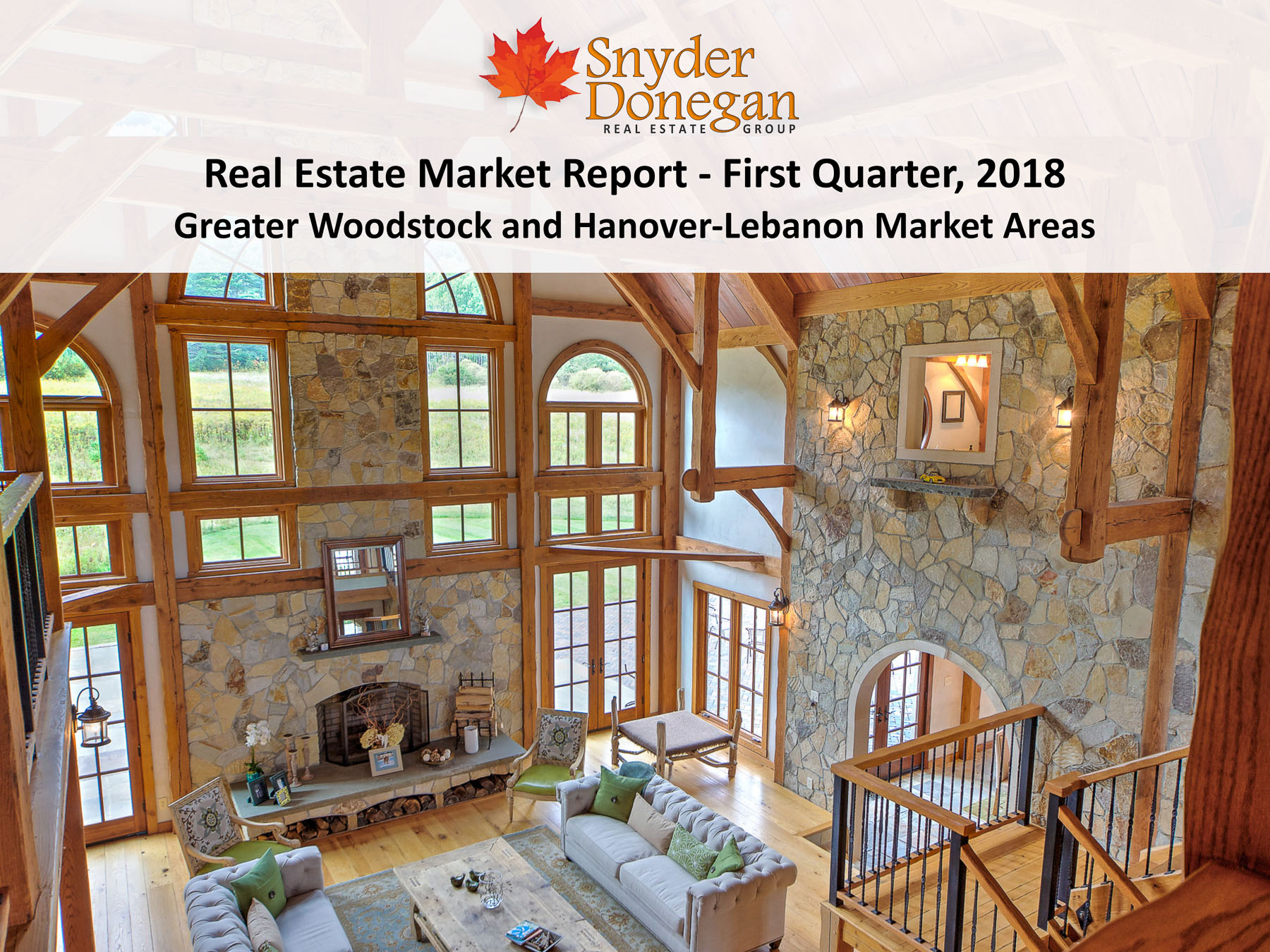 Greater Woodstock and Hanover Lebanon Market Area Real Estate Market Report - 1Q 2018 Cover Art