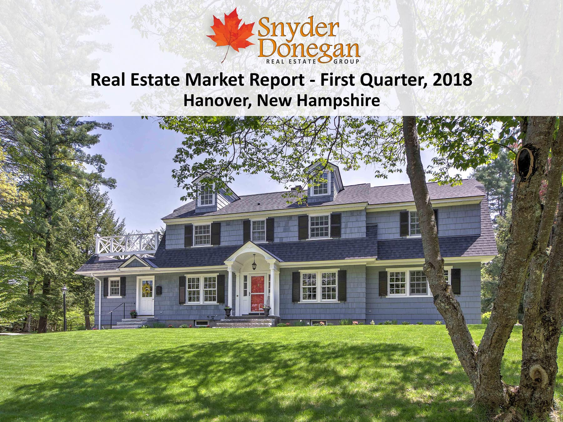 Hanover NH Real Estate - 1Q 2018 Cover Art