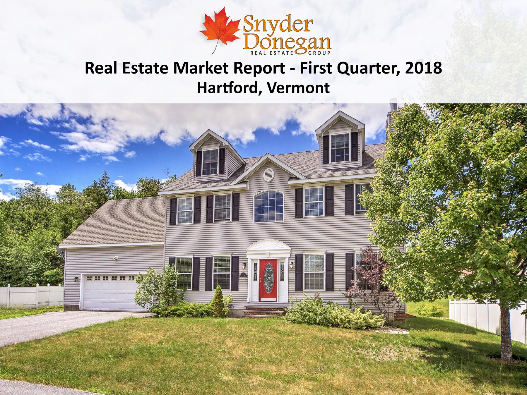 Hartford VT Real Estate - 1Q 2018 Cover Art