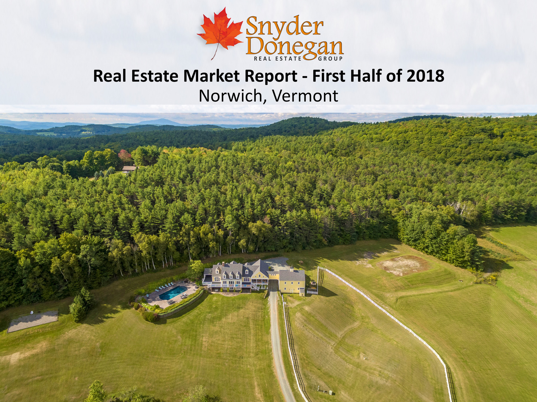 Norwich VT Real Estate Market Report - First Half of 2018