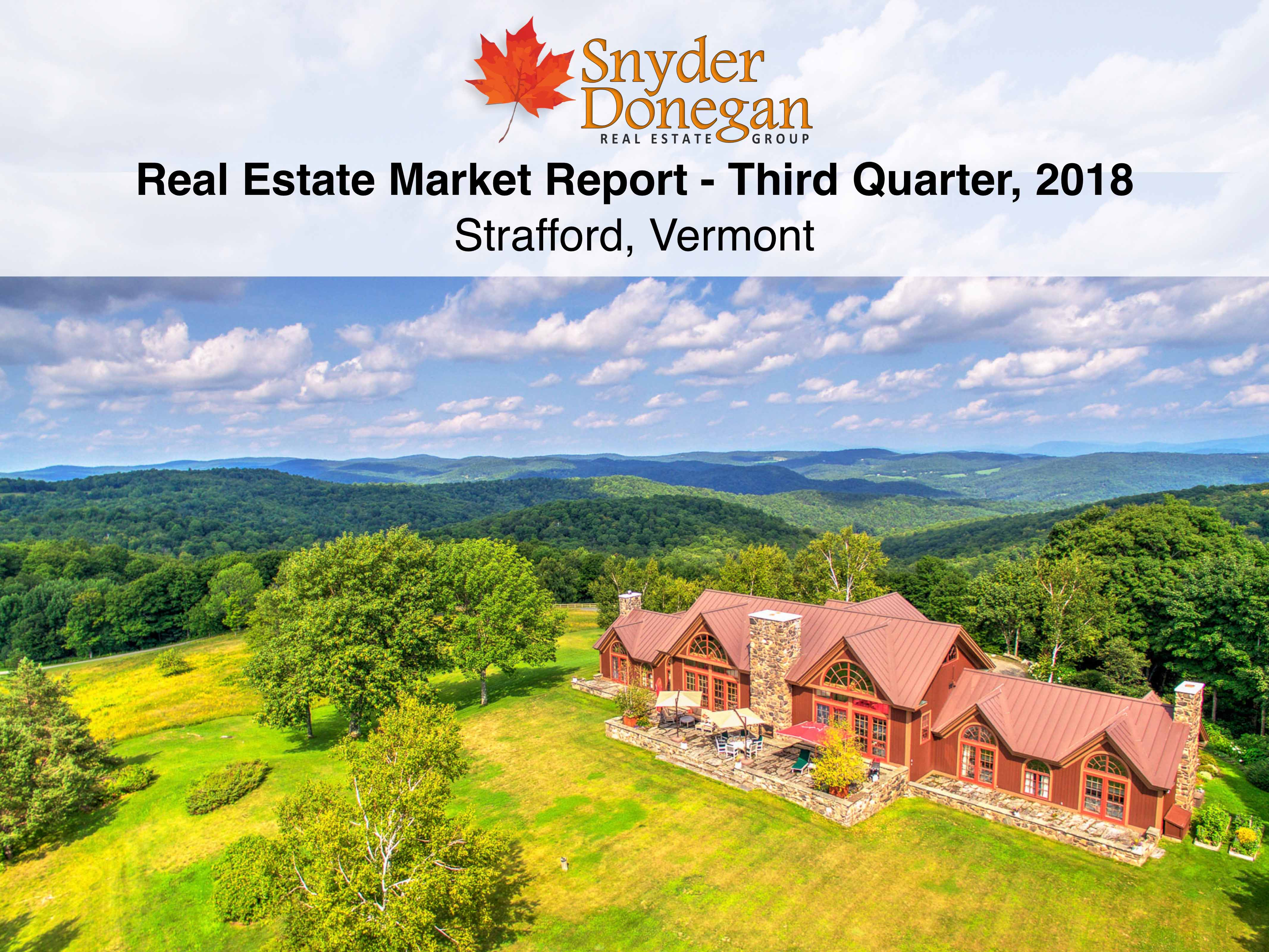 Strafford VT Real Estate