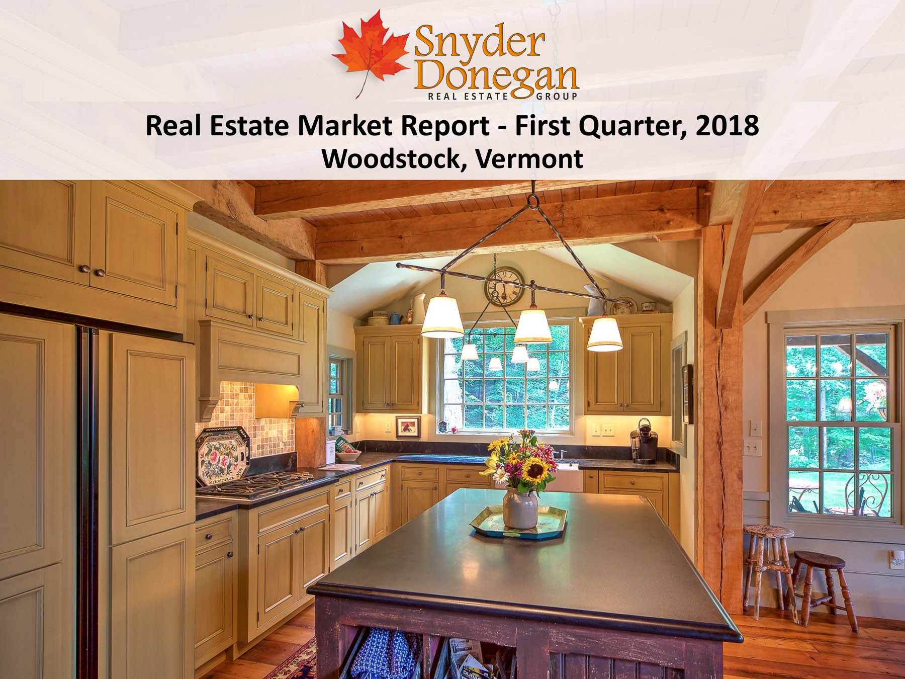 Woodstock VT Real Estate - 1Q 2018 Cover Art